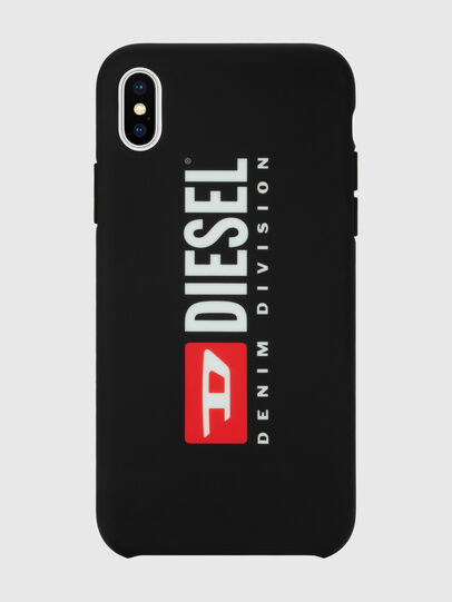 Diesel - DIESEL PRINTED CO-MOLD CASE FOR IPHONE XS MAX, Negro/Blanco - Fundas - Image 4