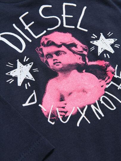 Diesel - TAIZAB, Azul Oscuro - Camisetas y Tops - Image 3