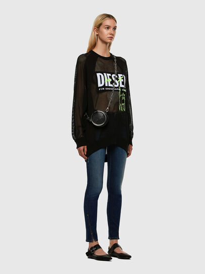Diesel - D-Jevel 009HL, Azul Oscuro - Vaqueros - Image 7