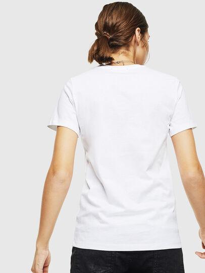 Diesel - T-SILY-DIVISION, Blanco - Camisetas - Image 2