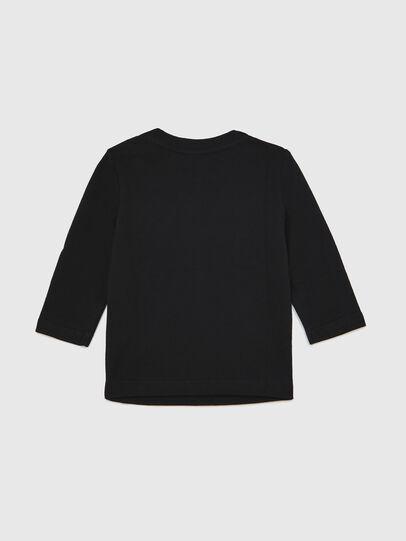 Diesel - TJUSTLOGOB ML, Negro - Camisetas y Tops - Image 2
