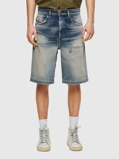 Diesel - D-MACS-SHORT, Azul Claro - Shorts - Image 1