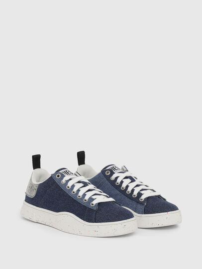 Diesel - S-CLEVER LOW LACE W, Azul - Sneakers - Image 2