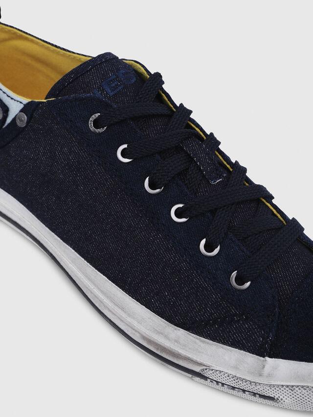 Diesel - EXPOSURE LOW I, Azul Oscuro - Sneakers - Image 4