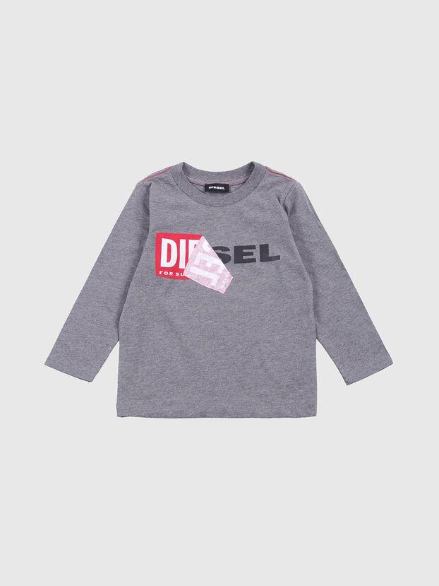 TOQUEB-R, Gris - Camisetas y Tops