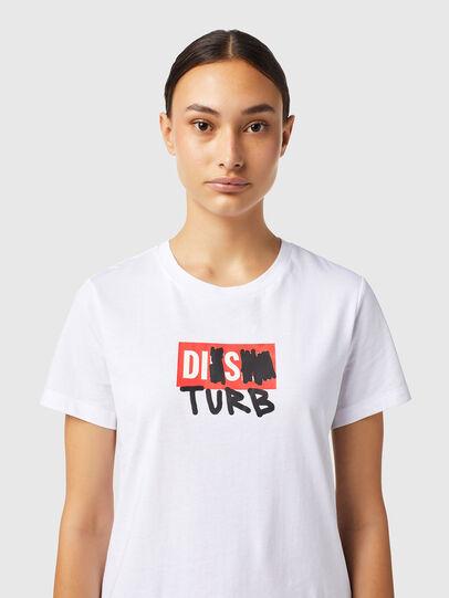 Diesel - T-SILY-B6, Blanco - Camisetas - Image 3