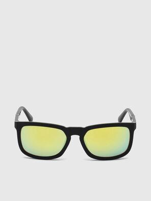 DL0262, Negro/Verde - Gafas de sol