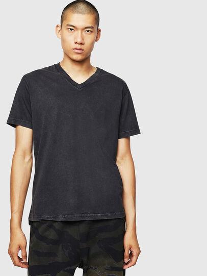 Diesel - T-THEA, Negro - Camisetas - Image 1