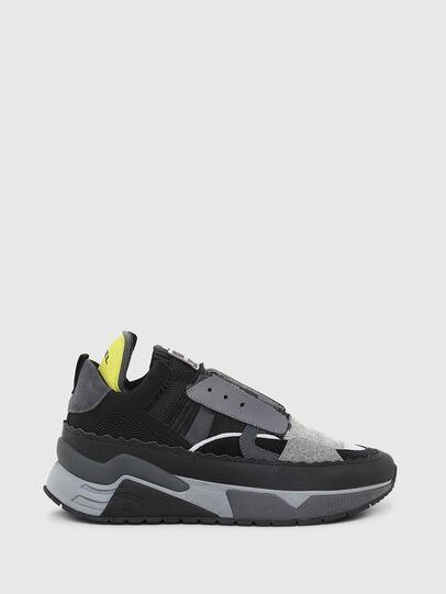 Diesel - S-BRENTHA DEC, Negro/Gris - Sneakers - Image 1