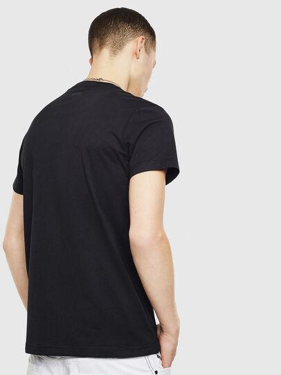 Diesel - T-DIEGO-S12, Negro - Camisetas - Image 2