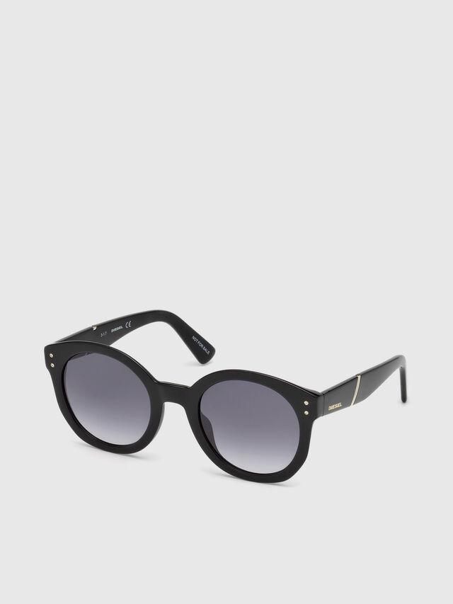 Diesel - DL0252, Negro - Gafas de sol - Image 4