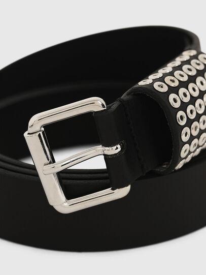 Diesel - B-OPPEANO, Negro - Cinturones - Image 2