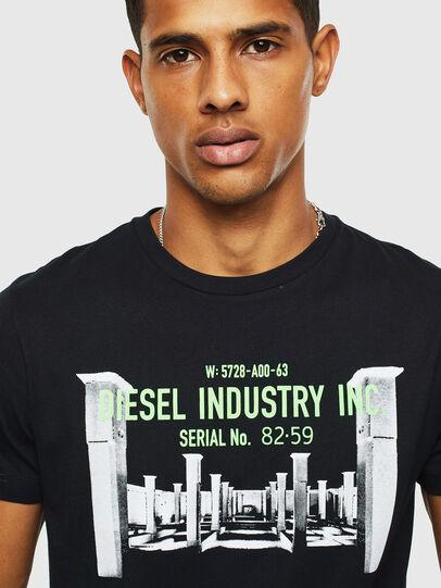 Diesel - T-DIEGO-S13, Negro - Camisetas - Image 3