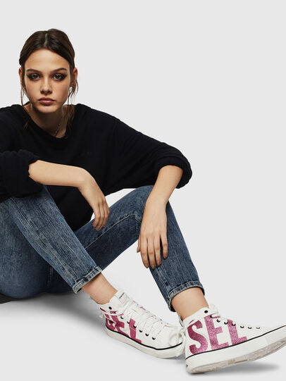 Diesel - S-ASTICO MC W, Blanco/Rosa - Sneakers - Image 5