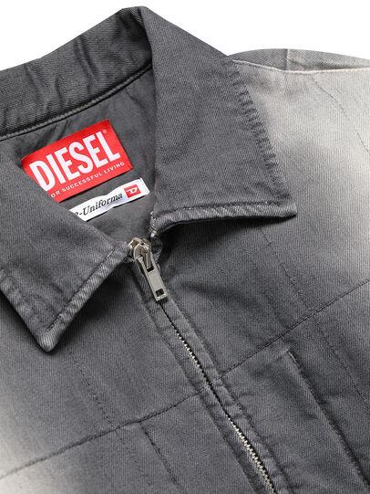 Diesel - GR02-J301, Gris/Blanco - Chaquetas de denim - Image 3