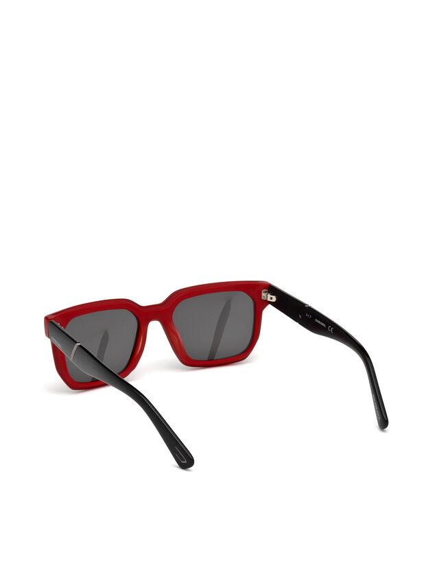 Diesel - DL0253, Negro/ Rojo - Gafas de sol - Image 2