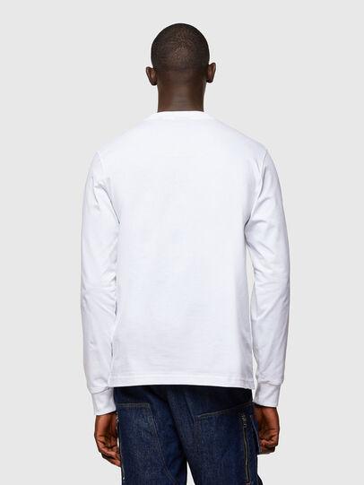 Diesel - T-JUST-LS-A10, Blanco - Camisetas - Image 2