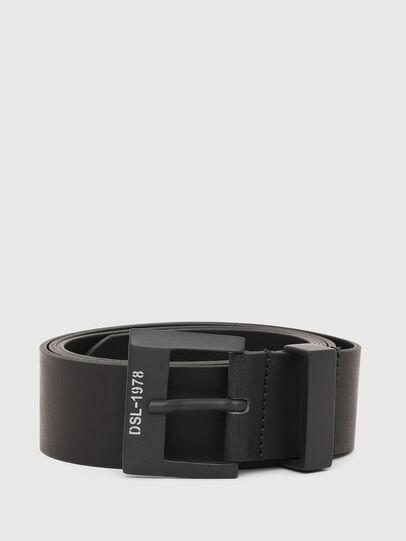 Diesel - B-MELO78, Negro - Cinturones - Image 1