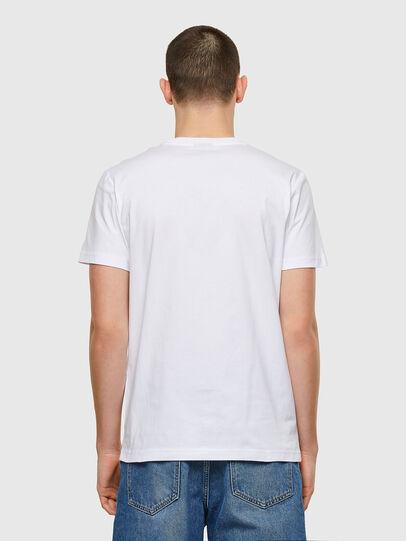 Diesel - T-DIEGOS-E32, Blanco - Camisetas - Image 2