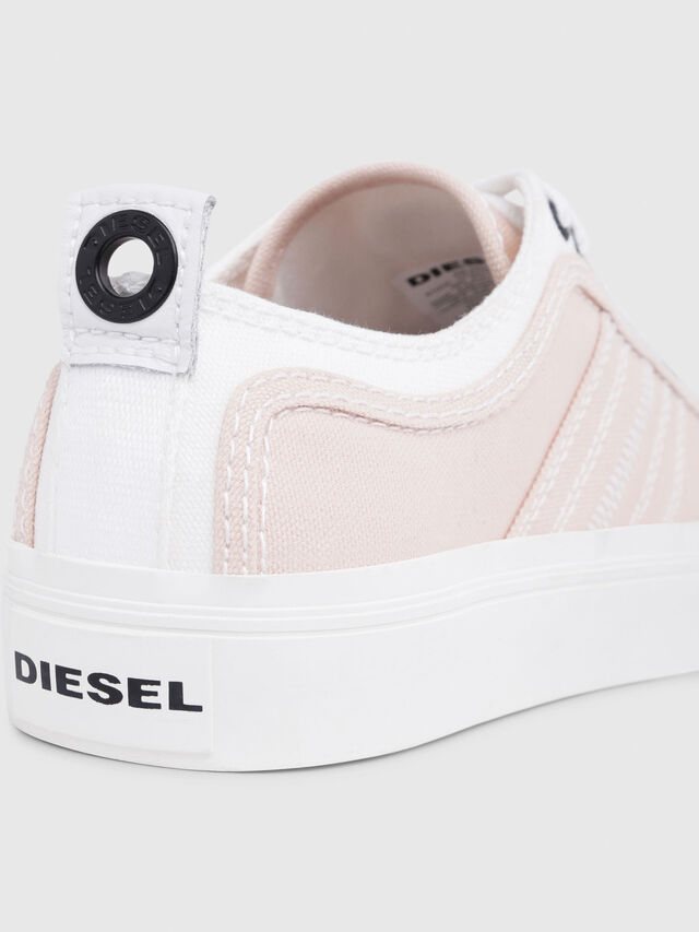 Diesel - S-ASTICO LOW LACE W, Rosa/Blanco - Sneakers - Image 4