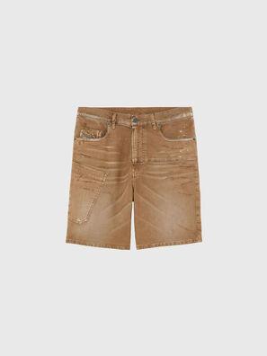 D-AZERR-SHORT JOGGJEANS, Marrón - Shorts