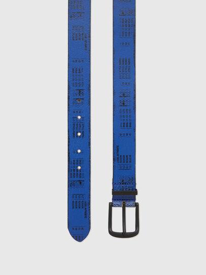 Diesel - B-DERUB, Negro/Azul marino - Cinturones - Image 3
