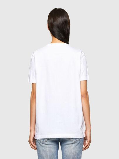 Diesel - CL-T-DIEGOS-O2, Blanco - Camisetas - Image 4