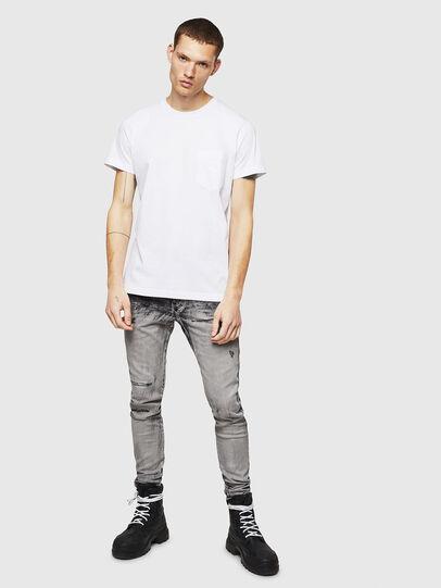 Diesel - T-DIEGO-POCKET-B1, Blanco - Camisetas - Image 4
