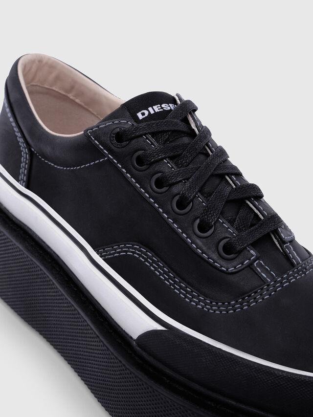 Diesel - H-SCIROCCO LOW, Negro/Blanco - Sneakers - Image 4