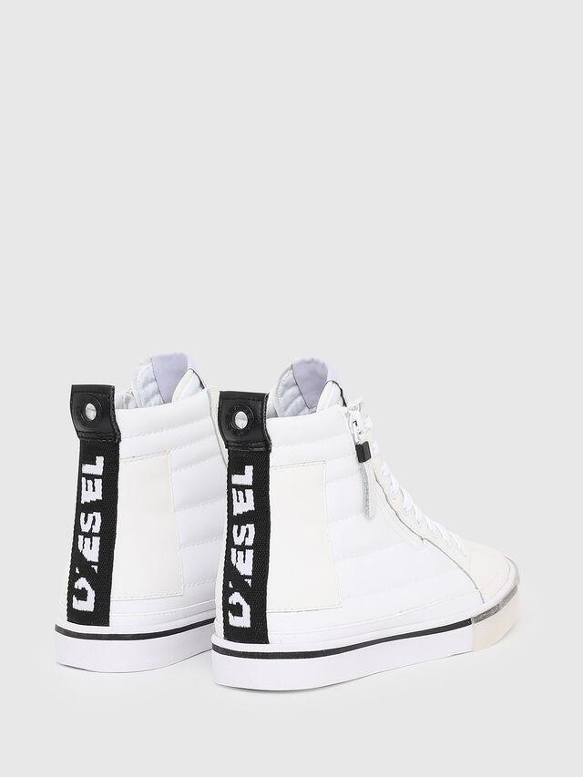 Diesel - D-VELOWS MID PATCH W, Blanco - Sneakers - Image 3