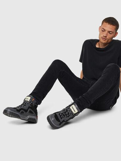 Diesel - S-RUA SP, Gris oscuro - Sneakers - Image 6
