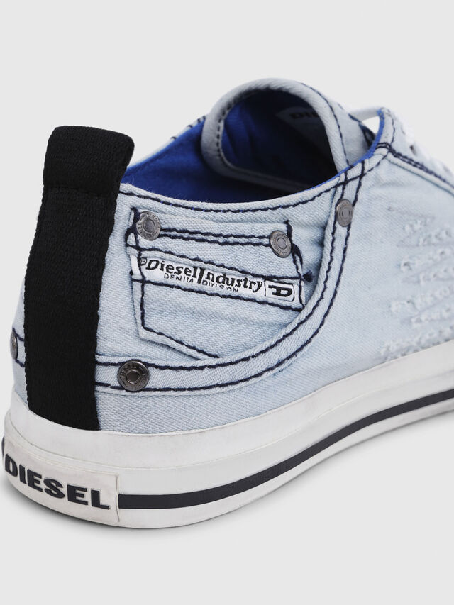 Diesel - EXPOSURE LOW I, Azul Claro - Sneakers - Image 5