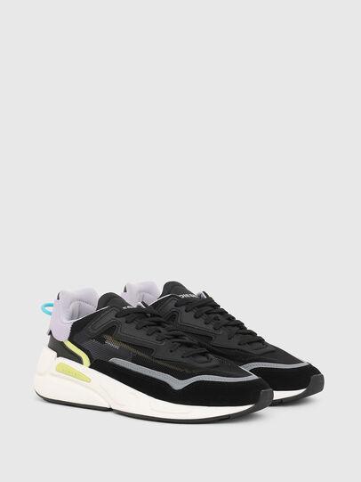 Diesel - S-SERENDIPITY SM W, Negro/Morado - Sneakers - Image 2