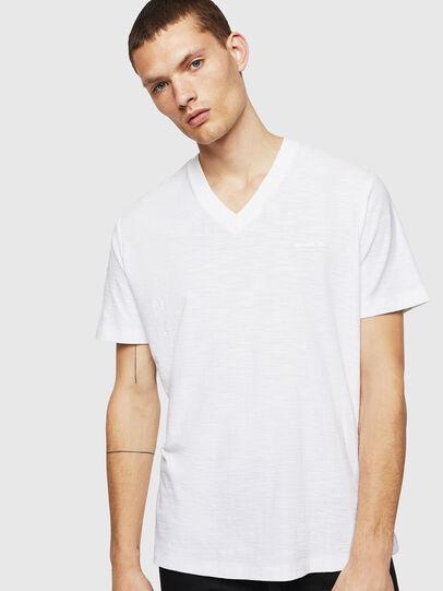 Diesel - T-RANIS, Blanco - Camisetas - Image 1