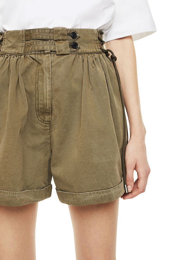 Diesel - SIMONY, Verde Militar - Shorts - Image 3