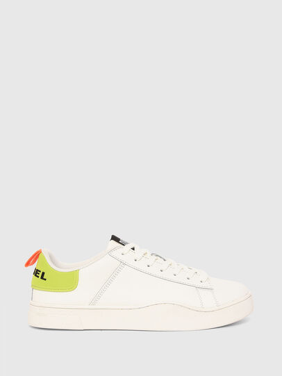 Diesel - S-CLEVER LOW LACE, Blanco/Amarillo - Sneakers - Image 1