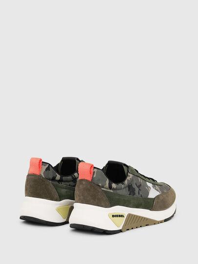 Diesel - S-KB LOW LACE II, Verde Camuflaje - Sneakers - Image 3