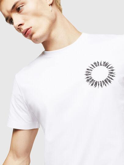 Diesel - T-DIEGO-A12, Blanco - Camisetas - Image 3