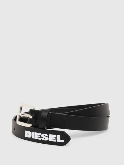 Diesel - B-LOWGO, Negro - Cinturones - Image 2