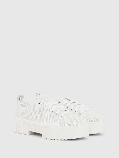 Diesel - S-MERLEY LC, Blanco - Sneakers - Image 2