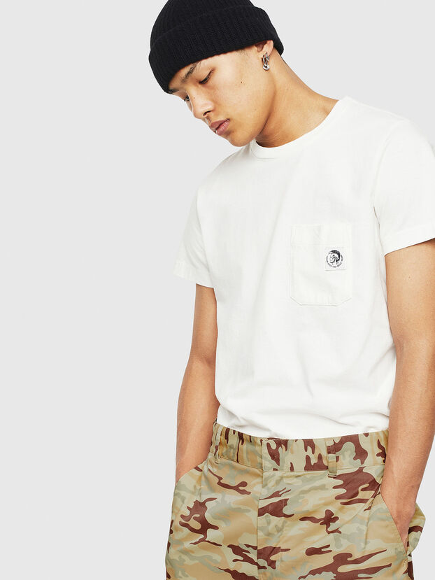 T-WORKY-MOHI-S1, Blanco - Camisetas