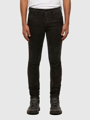 D-Strukt JoggJeans 009GH, Negro/Gris oscuro - Vaqueros