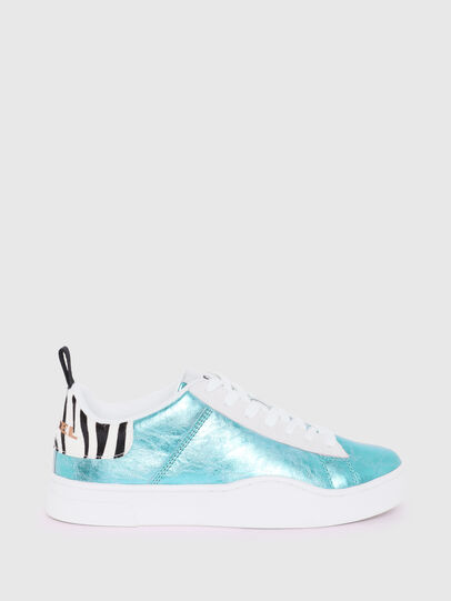 Diesel - S-CLEVER LOW LACE W, Celeste - Sneakers - Image 1