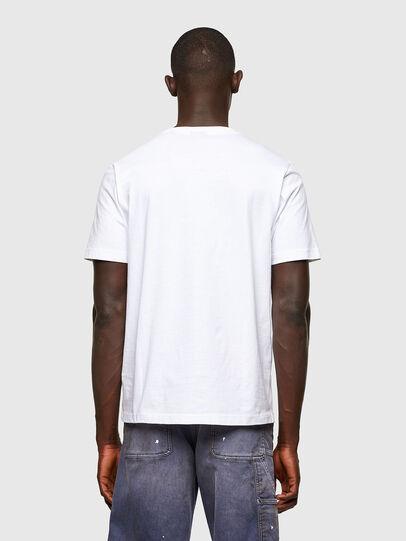 Diesel - T-JUST-A43, Blanco - Camisetas - Image 2