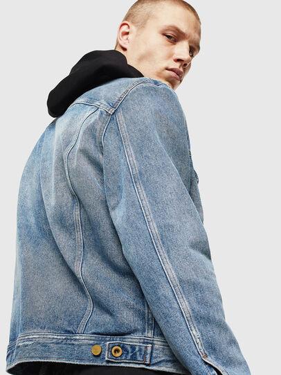 Diesel - D-BRAY, Blue Jeans - Chaquetas de denim - Image 5
