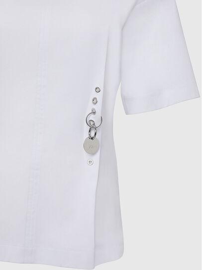 Diesel - T-SHEELA, Blanco - Camisetas - Image 3