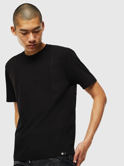 Diesel - T-TOMI, Negro - Camisetas - Image 1