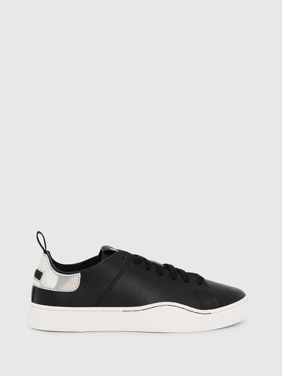 Diesel - S-CLEVER LS W, Negro/Plata - Sneakers - Image 1