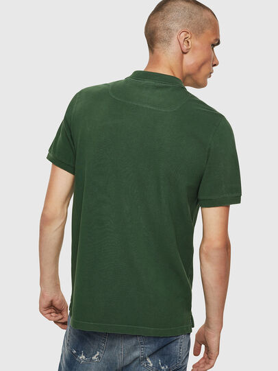 Diesel - T-NIGHT-NEW, Verde Oscuro - Polos - Image 2