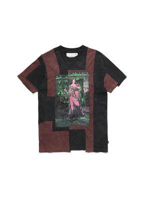D-FRANK&STEIN, Rojo/Negro - Camisetas